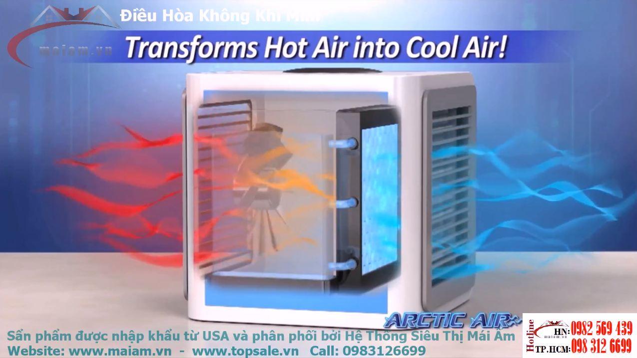 Máy Làm Mát Không Khí Arctic Air - Điều hòa không khí mini Arctic Air Personal Space Cooler